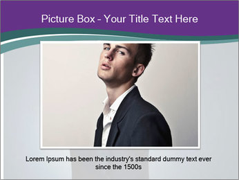 Stylish man PowerPoint Templates - Slide 16