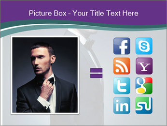 Stylish man PowerPoint Templates - Slide 21