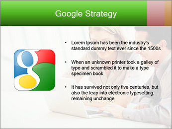 Meeting Around Table PowerPoint Template - Slide 10