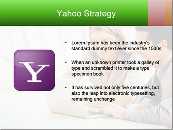 Meeting Around Table PowerPoint Template - Slide 11