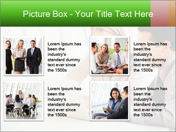 Meeting Around Table PowerPoint Template - Slide 14