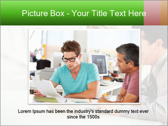 Meeting Around Table PowerPoint Template - Slide 16
