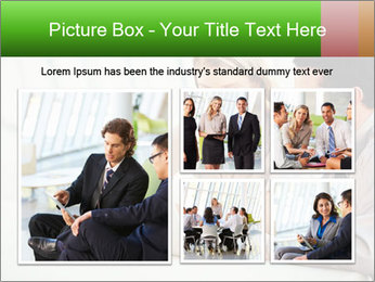 Meeting Around Table PowerPoint Template - Slide 19