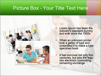 Meeting Around Table PowerPoint Template - Slide 20