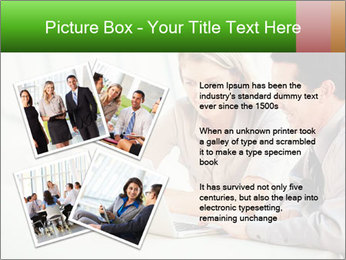 Meeting Around Table PowerPoint Template - Slide 23