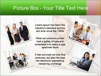 Meeting Around Table PowerPoint Template - Slide 24
