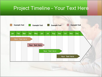 Meeting Around Table PowerPoint Template - Slide 25