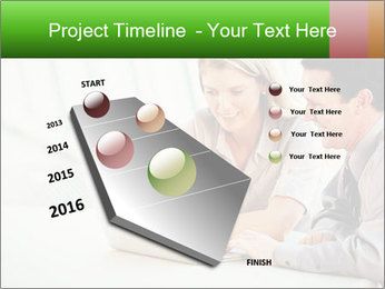 Meeting Around Table PowerPoint Template - Slide 26
