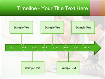Meeting Around Table PowerPoint Template - Slide 28