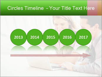 Meeting Around Table PowerPoint Template - Slide 29