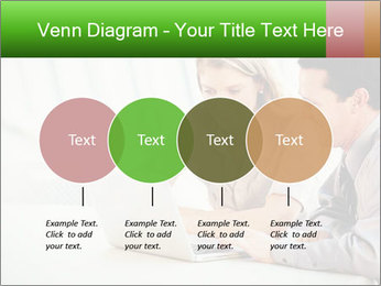 Meeting Around Table PowerPoint Template - Slide 32