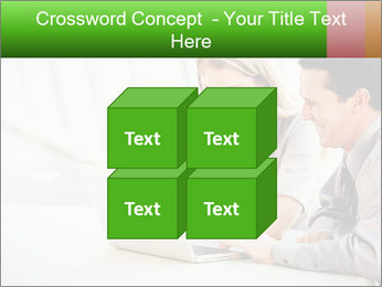 Meeting Around Table PowerPoint Template - Slide 39