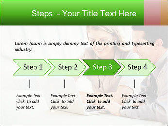 Meeting Around Table PowerPoint Template - Slide 4