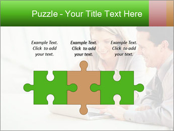 Meeting Around Table PowerPoint Template - Slide 42