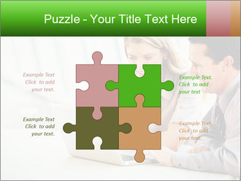Meeting Around Table PowerPoint Template - Slide 43