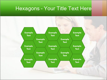 Meeting Around Table PowerPoint Template - Slide 44