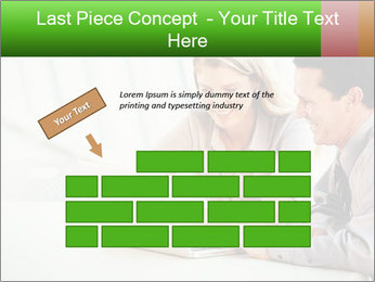 Meeting Around Table PowerPoint Template - Slide 46