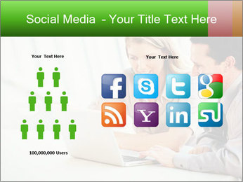 Meeting Around Table PowerPoint Template - Slide 5