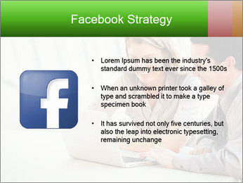 Meeting Around Table PowerPoint Template - Slide 6
