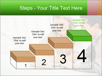 Meeting Around Table PowerPoint Template - Slide 64