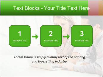 Meeting Around Table PowerPoint Template - Slide 71