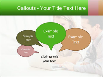 Meeting Around Table PowerPoint Template - Slide 73