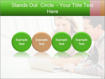 Meeting Around Table PowerPoint Template - Slide 76