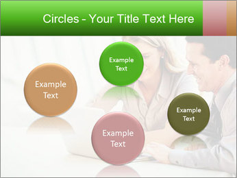 Meeting Around Table PowerPoint Template - Slide 77