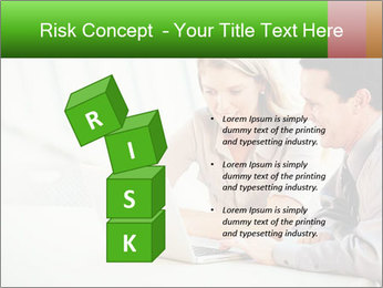 Meeting Around Table PowerPoint Template - Slide 81