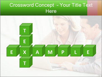 Meeting Around Table PowerPoint Template - Slide 82