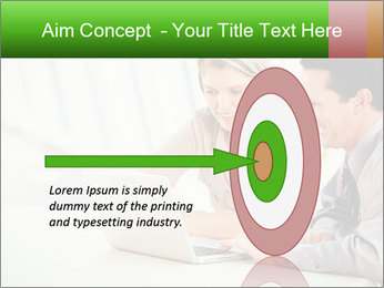 Meeting Around Table PowerPoint Template - Slide 83