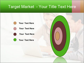 Meeting Around Table PowerPoint Template - Slide 84