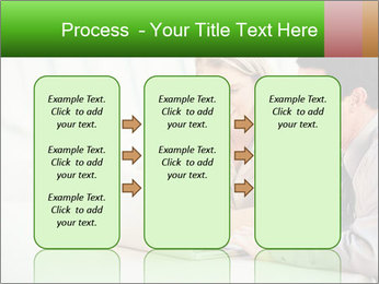 Meeting Around Table PowerPoint Template - Slide 86