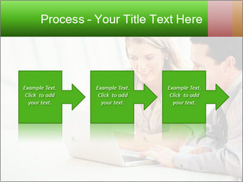 Meeting Around Table PowerPoint Template - Slide 88