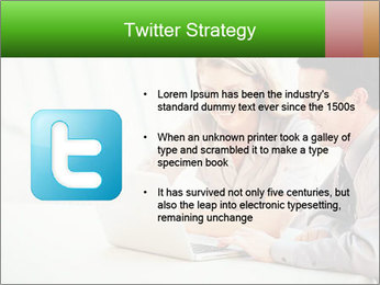 Meeting Around Table PowerPoint Template - Slide 9