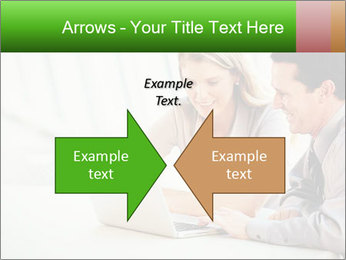 Meeting Around Table PowerPoint Template - Slide 90