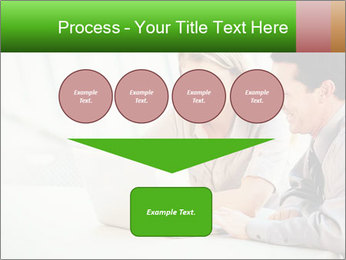 Meeting Around Table PowerPoint Template - Slide 93