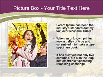 Young couple sitting PowerPoint Templates - Slide 13