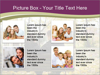 Young couple sitting PowerPoint Templates - Slide 14