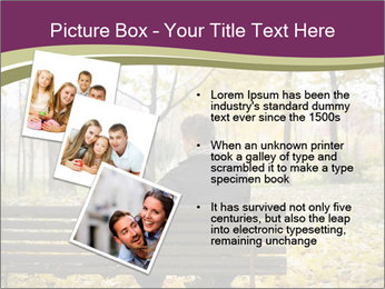Young couple sitting PowerPoint Templates - Slide 17