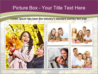 Young couple sitting PowerPoint Templates - Slide 19