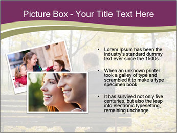 Young couple sitting PowerPoint Templates - Slide 20