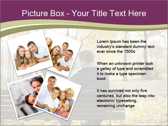 Young couple sitting PowerPoint Templates - Slide 23