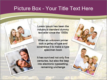 Young couple sitting PowerPoint Templates - Slide 24