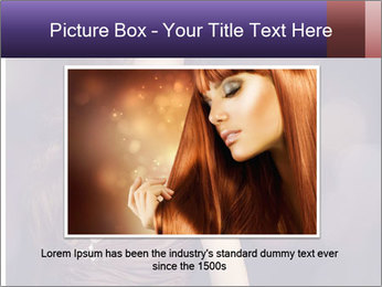 Woman with Healthy Long Hair PowerPoint Template - Slide 15