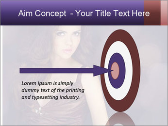Woman with Healthy Long Hair PowerPoint Template - Slide 83