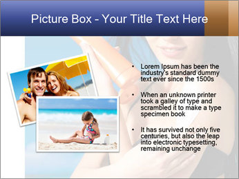 Beautiful young woman PowerPoint Template - Slide 20