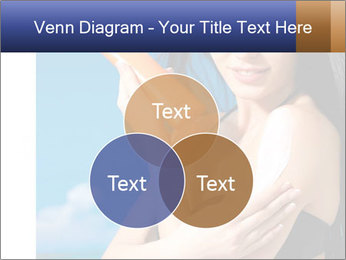 Beautiful young woman PowerPoint Template - Slide 33