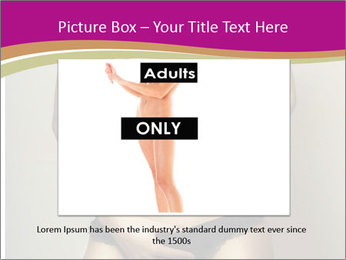 Attractive nude girl PowerPoint Templates - Slide 15