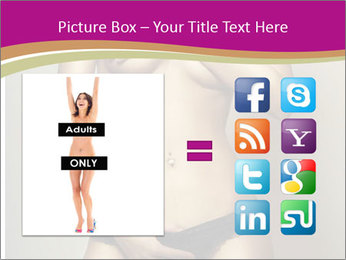 Attractive nude girl PowerPoint Templates - Slide 21